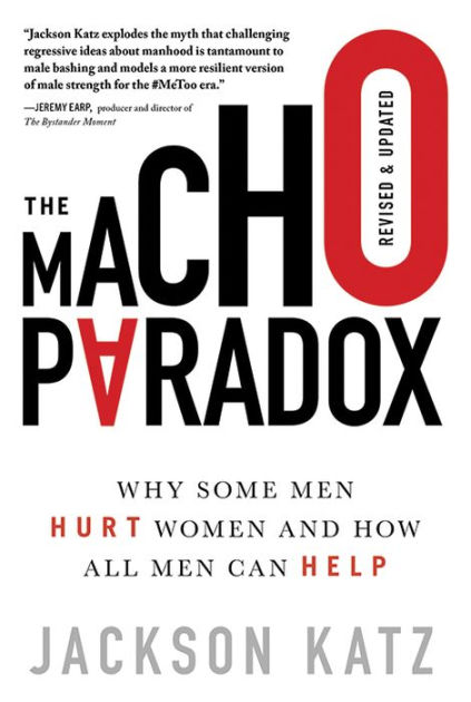 "Book cover for ""The Macho Paradox"""