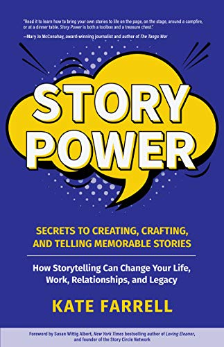 "This is the book cover for ""Story Power"""