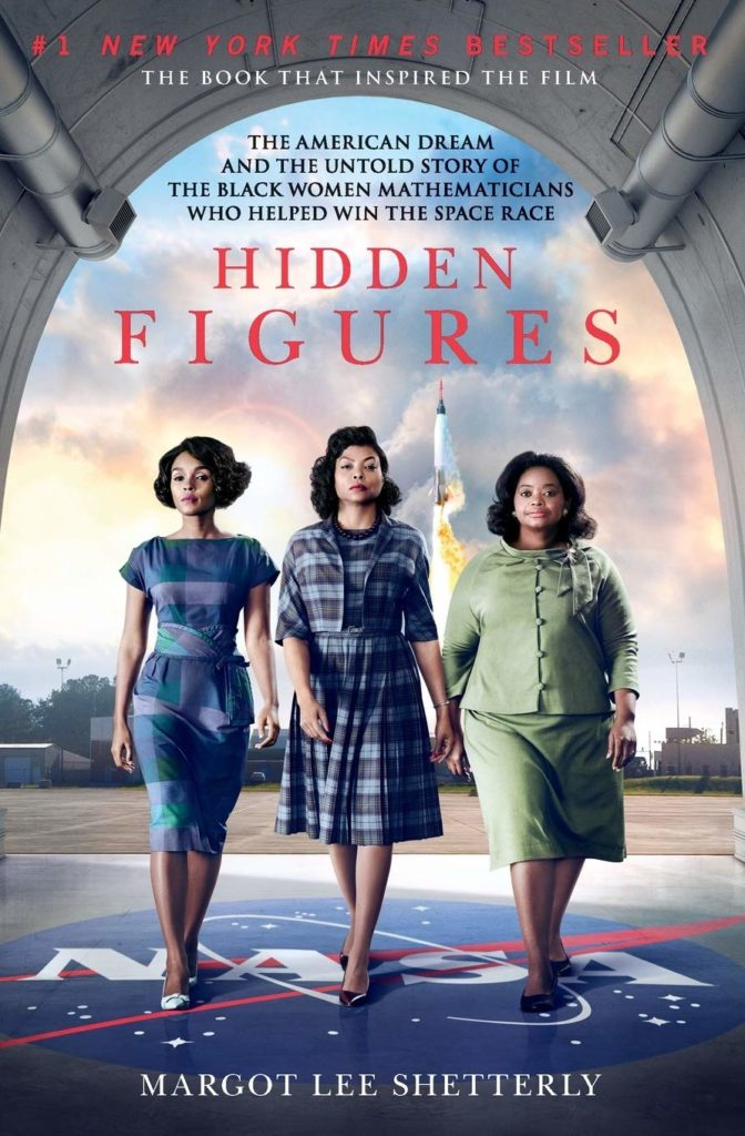 Hidden Figures by Margot Lee Shetterley Book Cover