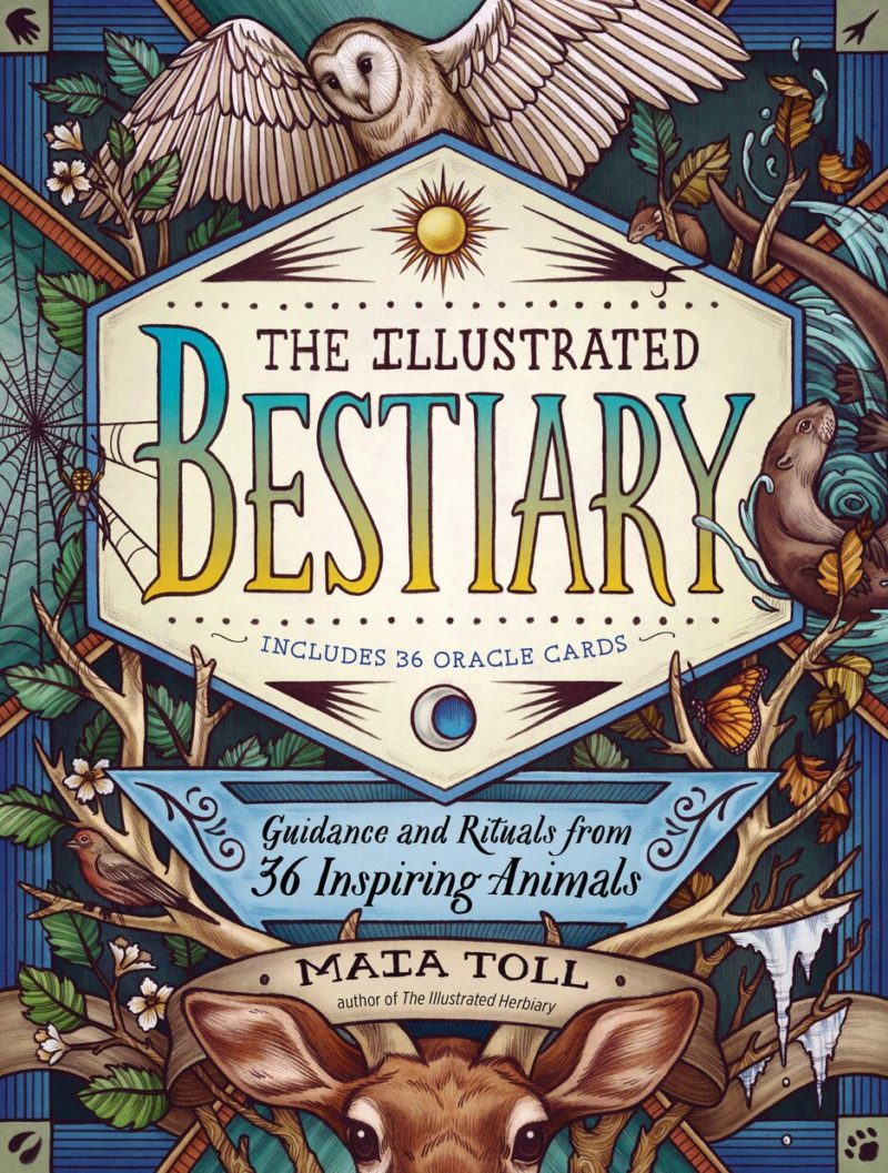 THE ILLUSTRATED BESTIARY by MAIA TOLL